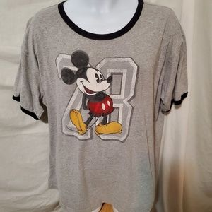 The Disney Store 2x mens Mickey tee